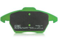 Купить Износостойкие тормозные колодки Green Stuff EBC Brakes ©