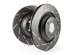 Купить Тормозные диски с насечками Ultimax Grooved EBC Brakes ©